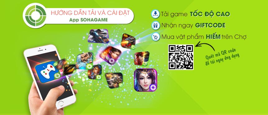 [Hướng Dẫn] Cài đặt App SohaGame Hưởng Ngàn Ưu Đãi - 1