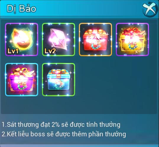 [Hoạt Động]Hệ Thống Boss và Chiến Trường Ngoại Vực - 5