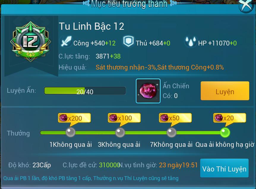 [Hoạt Động]Tu Linh - 1