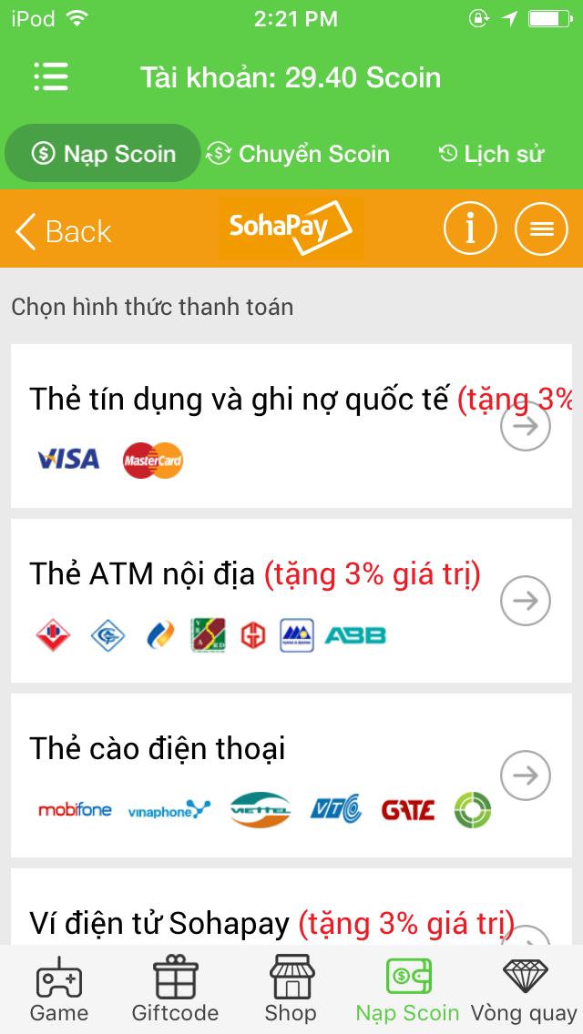 Khám phá các tiện ích từ việc sử dụng app SohaGame - 5