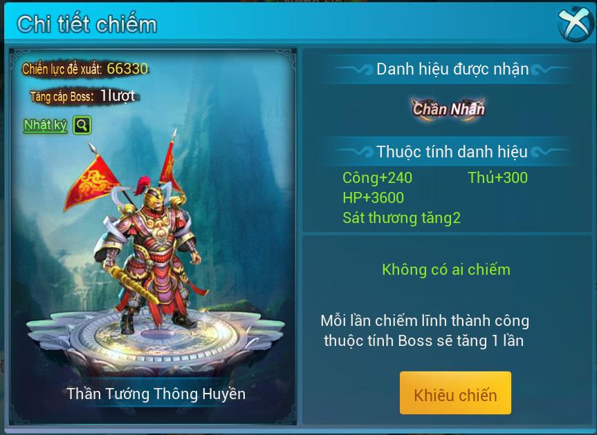 [Hoạt Động] Phong Thần Bảng - 5