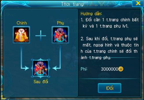 [Tính Năng] - Đồ Thời Trang - Thần Kiếm 3D - 8