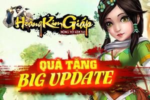 [Tiêu Điểm] Quà Tặng Big Update - Phiên Bản HOÀNG KIM GIÁP