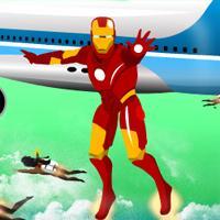 Game Iron Man Giải Cứu Máy Bay