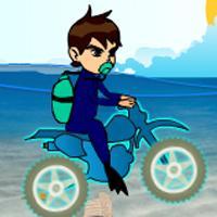 Game Ben 10 Lái Xe Dưới Nước