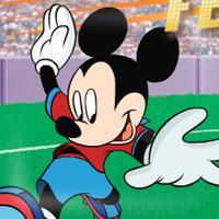 Game Chuột Mickey Đá Bóng