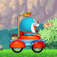 Game Doraemon Đua Xe Vượt Thời Gian