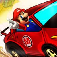 Game Mario Điều Khiển Xe Đua