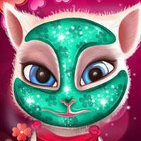 Game Mèo Angela Làm Đẹp Valentine