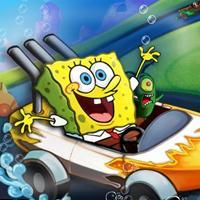 Game Ngôi Sao Spongebob Đua Xe