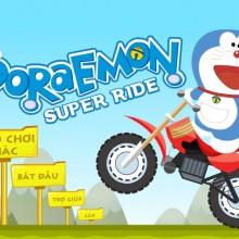 Game Doremon lái xe địa hình
