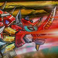 Game Lắp Ráp Robot Fire Rhino 2