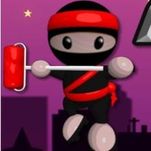 Game Ninja sơn tường