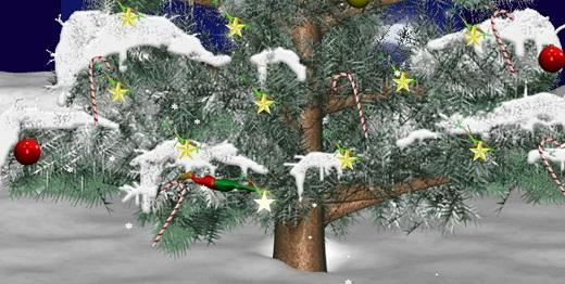 Game Rigby Nhặt Quà Giáng Sinh