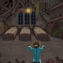 Game Một đêm trong nhà ma