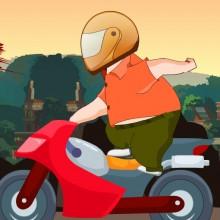 Game Chàng béo đua xe