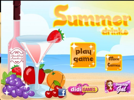 Game Cocktail mùa hè