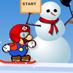 Game Mario Trượt Tuyết II