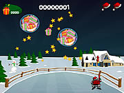 Game Santa trượt tuyết