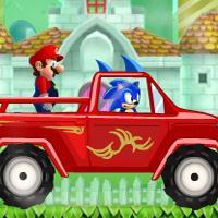 Game Sonic Chuyên Chở Mario