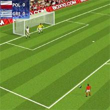 Game Sút phạt Euro