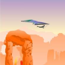 Game Tàu lượn trên sa mạc
