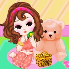 Game Make-up cho bé