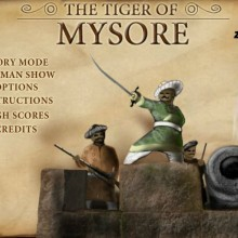 Game Tiger of mysore