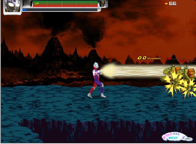 Game Ultraman Chiến Đấu