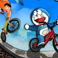 Game Doraemon đua xe đạp
