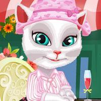 Game Mèo Angela Làm Đẹp