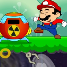 Game Mario nhặt tiền