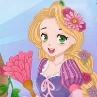 Game Rapunzel Dọn Nhà