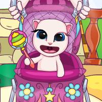 Game Angela Baby Trong Xe Đẩy
