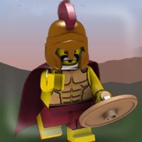 Game Chiến Binh Sparta Lego