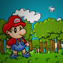 Game Mario bé