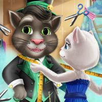 Game Mèo Angela Làm Thợ May