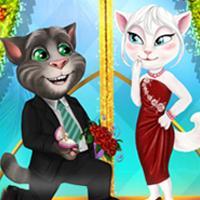 Game Mèo Tom Hẹn Hò Angela