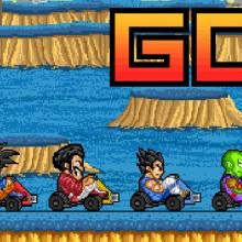 Game Songoku đua xe