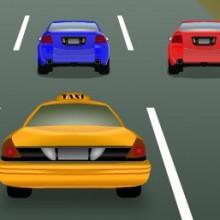 Game Taxi vượt cản