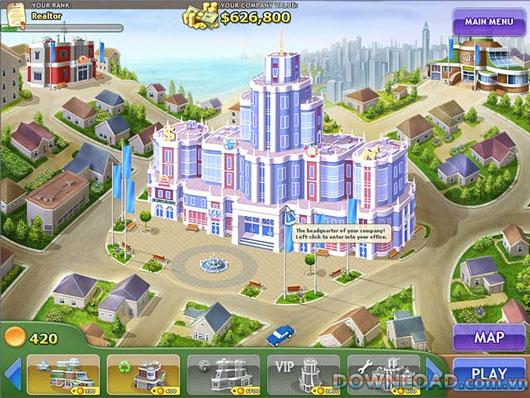 Game Kinh doanh bất động sản