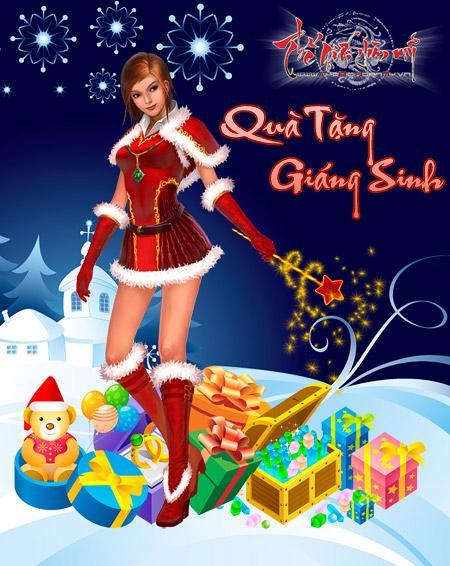 Game Qùa tặng Noel