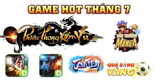 Tổng hợp những game sắp ra mắt trong tháng 7