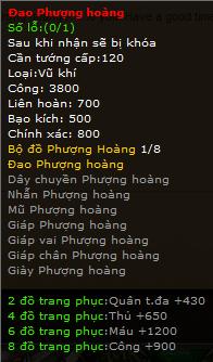 Thanh Chien - Trang Bi Phuong Hoang