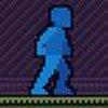 Game Robot màu xanh