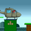 Game Mario lái trực thăng