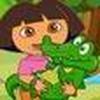 Game Dora chăm sóc thú