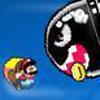 Game Mario bay trên không