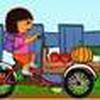 Game Dora chở hoa quả