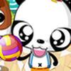 Game Gấu trúc chơi bóng chuyền